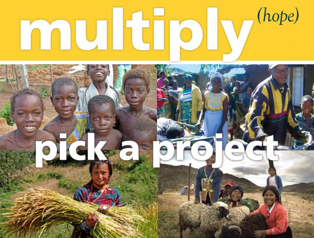 Multiply hope & pick a project