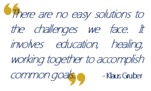 Klaus Gruber Quote